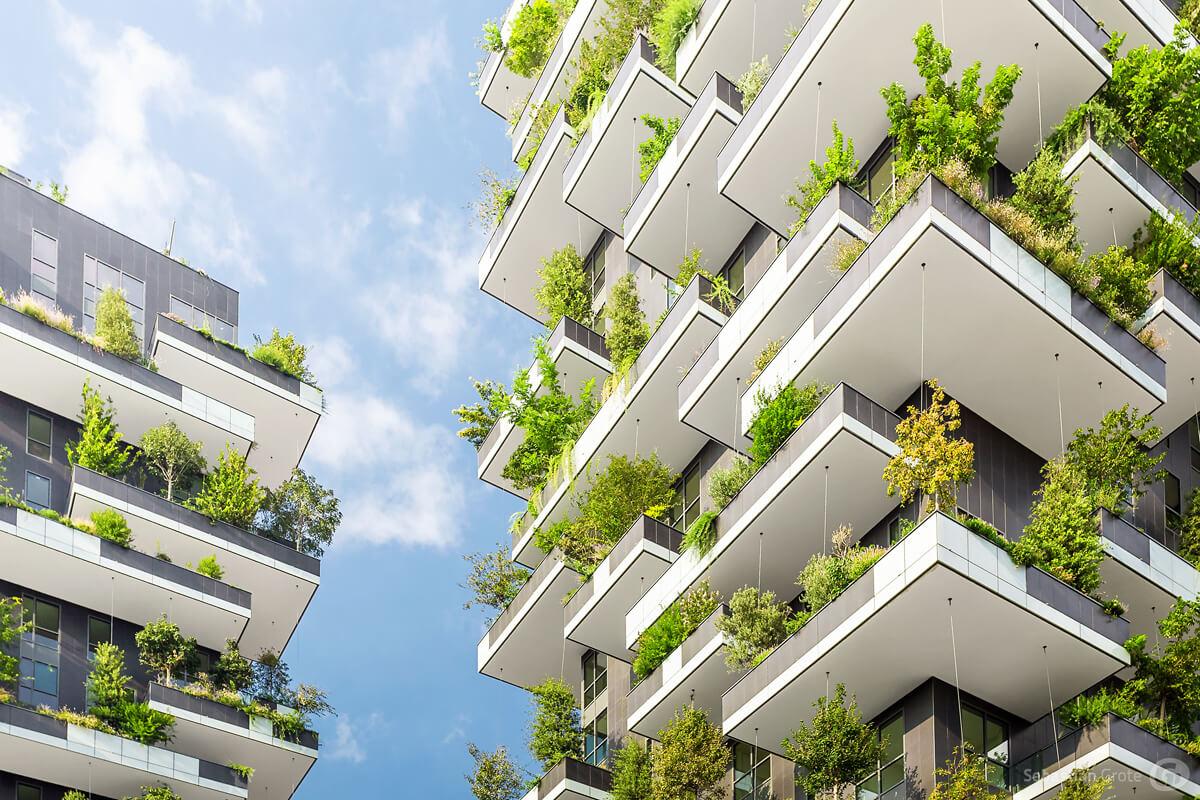 Bosco Verticale in Mailand - Weltweit erster vertikaler Wald
