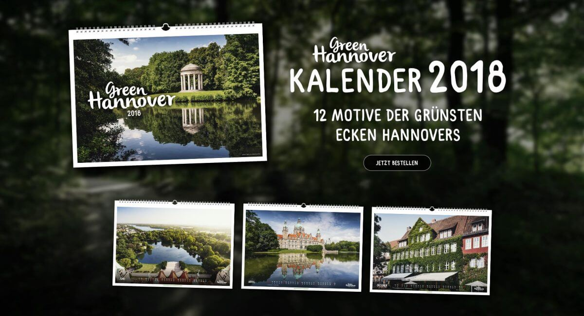 Green Hannover Kalender 2018