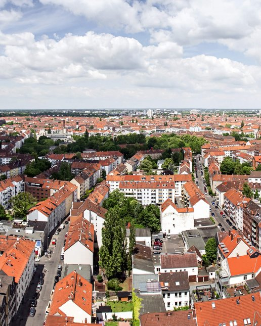 Hannover Oststadt List Panorama