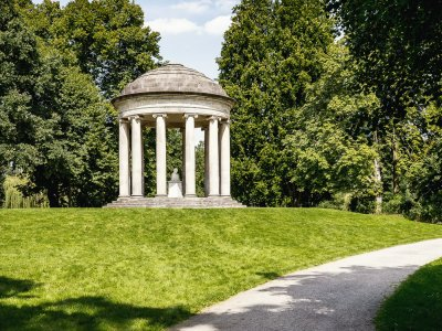 Leibniztempel im Georgengarten Hannover