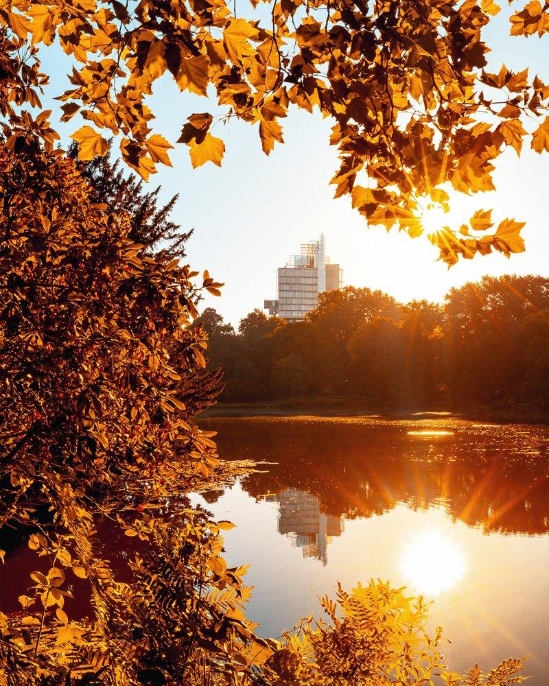 Maschpark im Herbst