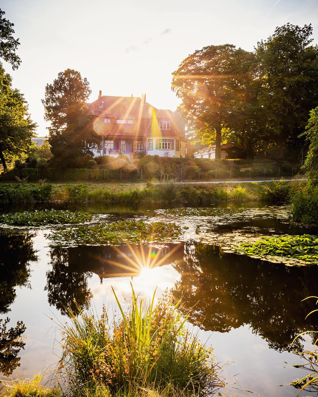 Haus am See im Hinüberschen Garten