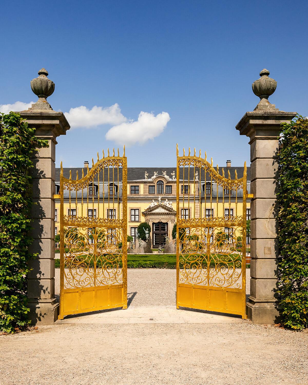 Goldenes Tor in den Herrenhäuser Gärten Hannover