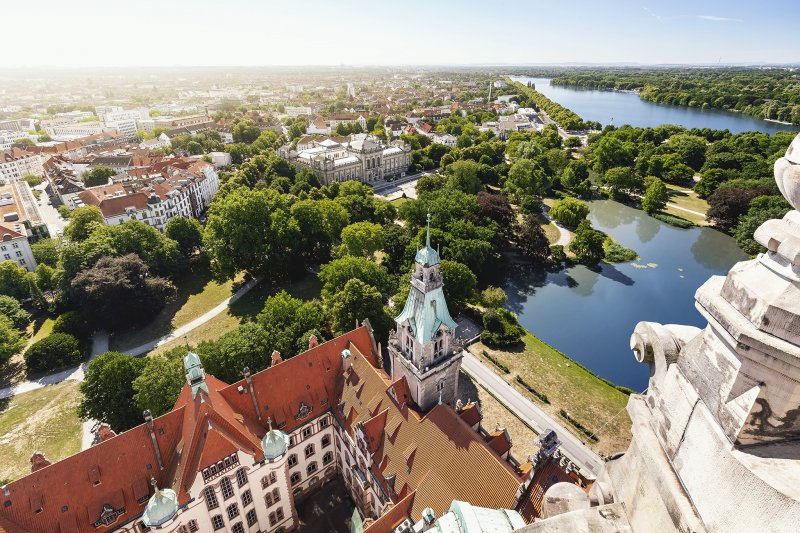 Grüne Großstadt Hannover