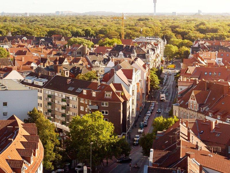 Hannover von oben