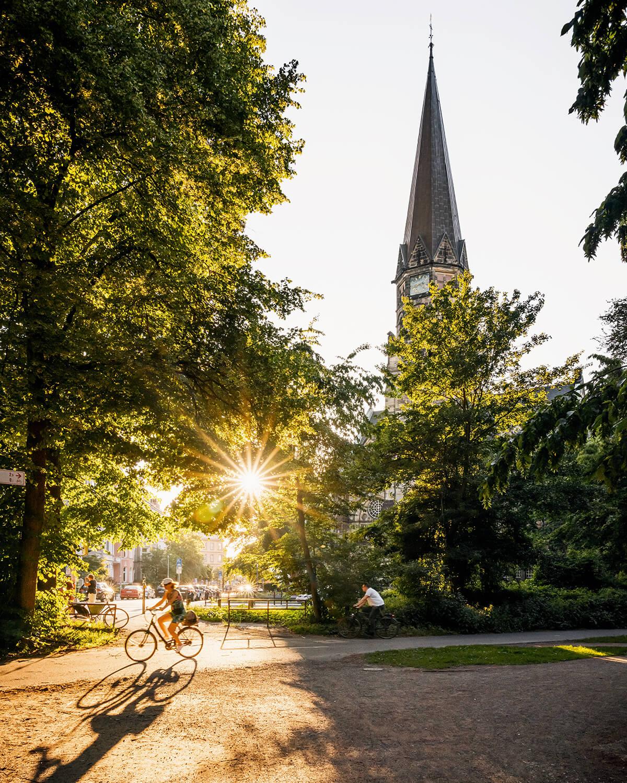 Eilenriede und Markuskirche